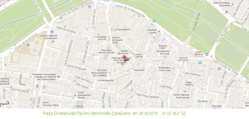 Mapa gps localitzacio