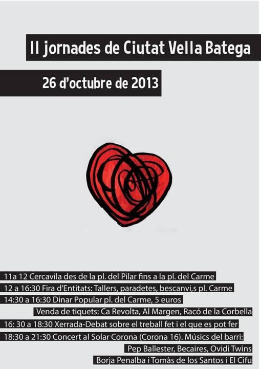 II Jornades de Ciutat Vella Batega  26 d'Octubre
